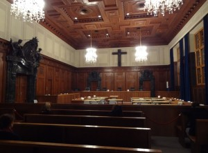 Courtroom 600, Palace of Justice, Nuremberg